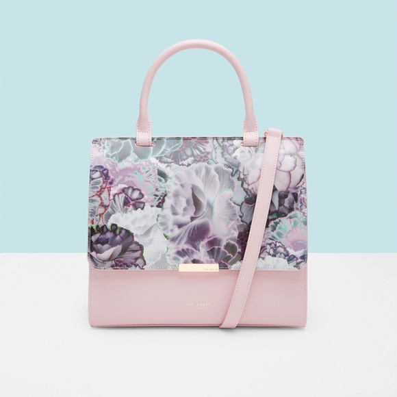 4244b943ec Ted Baker London Bags | New Ted Baker Illuminated Bloom Xhatch Tote ...